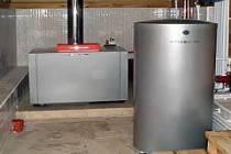 Открытая система отопления с принудительной или естественной циркуляцией
