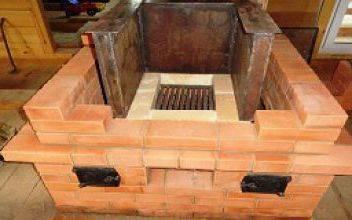 Как сложить печь с котлом водяного отопления