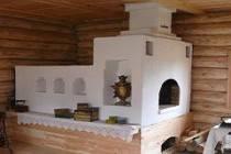 Печное отопление частного деревянного дома