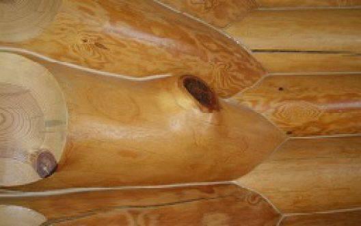 Отделка сруба из оцилиндровки - какие расценки на полировку
