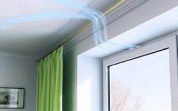 Зачем ставят вентиляционные клапаны на окна из ПВХ