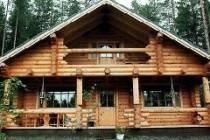Преимущества жилого дома из оцилиндрованного бревна