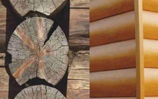 Ремонт дома из оцилиндрованного бревна: основные недостатки