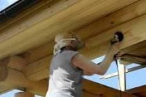 Как шлифовать дома из оцилиндрованного бруса самостоятельно: этапы, инструменты