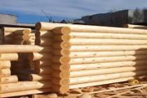 Строительство домов из оцилиндрованного бревна в Уфе