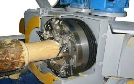 Станки для производства оцилиндрованного бревна от компании «Шервуд»
