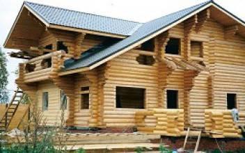 Кто строит дома из оцилиндрованного бревна в Белгороде