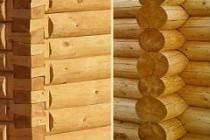 Преимущества строительства домов из оцилиндрованного бревна и бруса