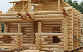 Строительство домов в Орле из оцилиндрованного бревна