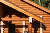 Какой требуется уход за домами из оцилиндрованных брёвен