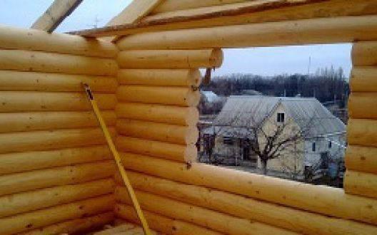 Как врезать окна в сруб - пропил окон в деревянном доме