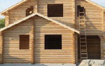Вставка окна в деревянный сруб - методы установки окон