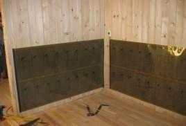 Монтаж инфракрасного отопления на стену
