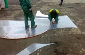 Нарезка поликарбонатных пластин
