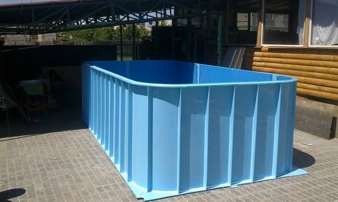 Наземный бассейн