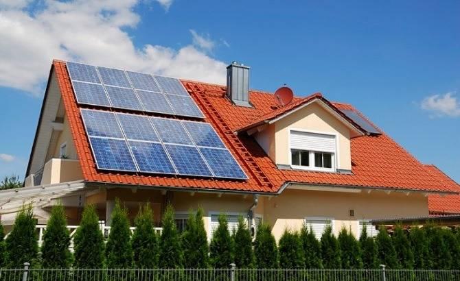 Отопление солнечными батареями