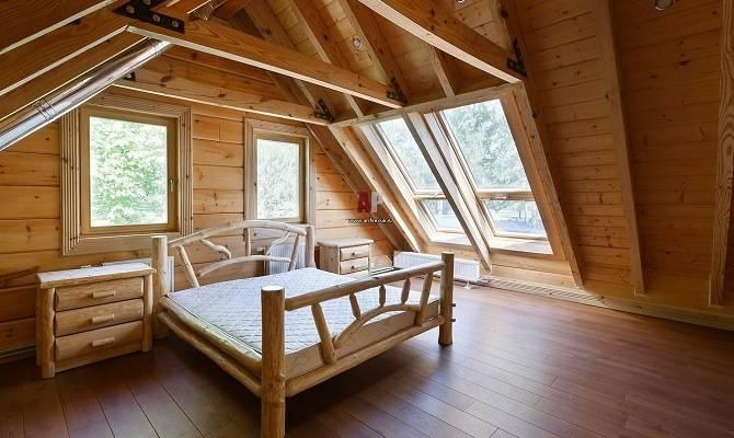 Планировка окон в деревянном доме