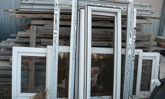 Пластиковые бу окна
