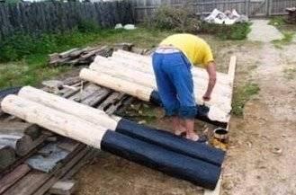 Подготовка древесины