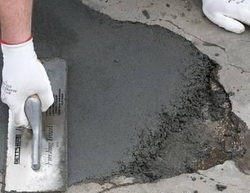 Ремонт бетонного крыльца