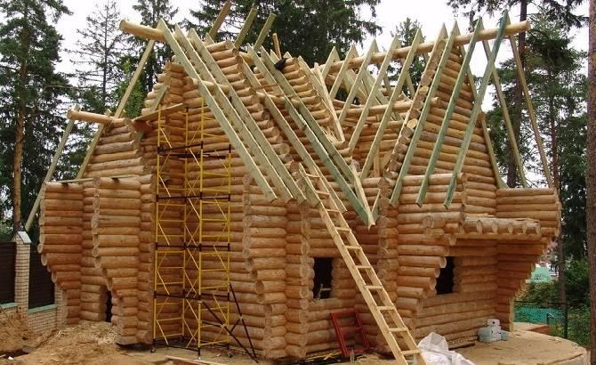 Северная древесина для строительства домов