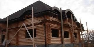 Строительство домов из оцилиндрованного бревна в Чувашии