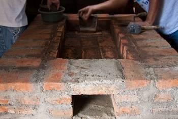 Строительство кирпичной печи