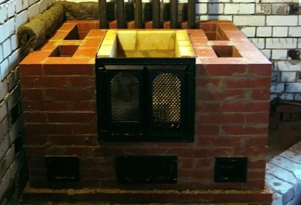 Строительство печи с водяным отоплением