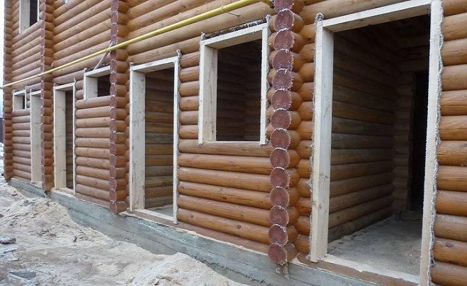 Установка оконных и дверных блоков