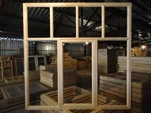 Выбор деревянных рам