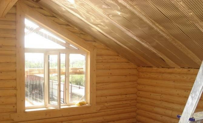 Заделка окон в деревянном доме