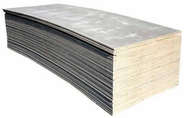 асбестоцементные листы - плоский шифер