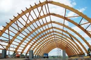 клееные арки из дерева
