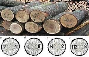 гост маркировка круглого леса